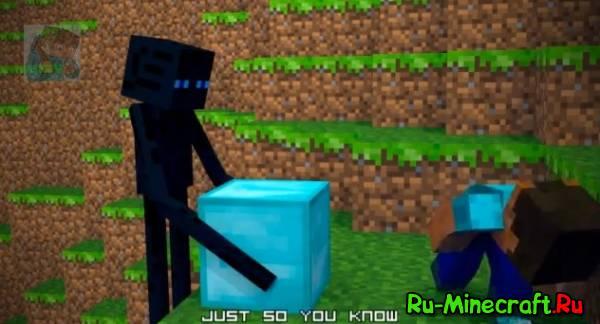 [Video] Like an enderman (Пародия на Minecraft Style)