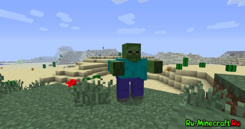 ZombieTech - новые виды зомби [1.12.2]