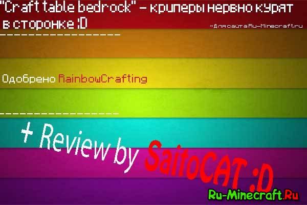 [1.4.6] [Mod-Loader] - Craftable bedrock , даёшь свободный бедрок!