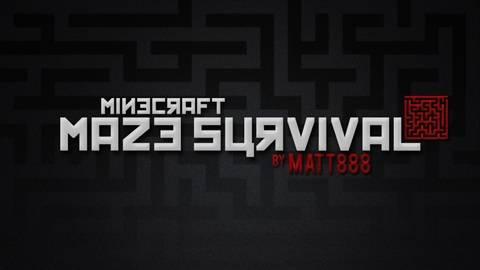 [MAP] Maze Survival - шикарная карта