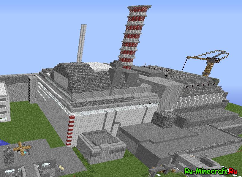 Скачать карту ядерная станция с модами