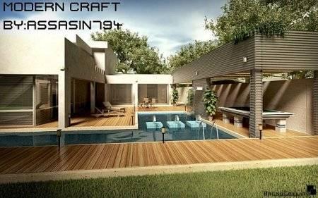 Городские Текстуры Modern-Craft 1.4.7 (32x)