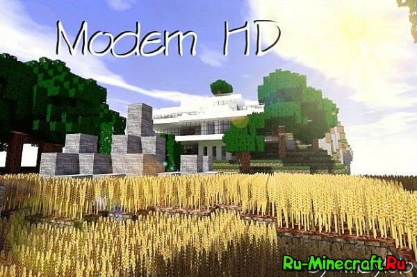 [64px][1.4.7] Modern HD - очень красивый текстурпак