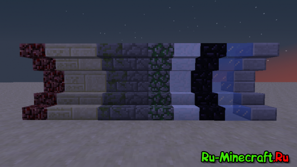 [1.4.6/1.4.7] Better Blocks & Items - много новых ступенек!