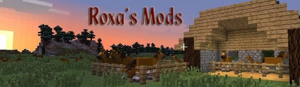 [1.4.6-1.4.7] Roxa's Mod Pack - Лошадки! Солома!
