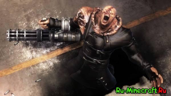 [1.4.6 & 1.4.7] The Nemesis Mod - Новый монстр мутант в вселенной Minecraft.