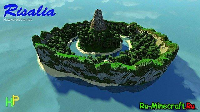 скачать карту для Minecraft остров - фото 11