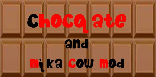 [1.4.7] Milka Cow and chocolate mod - Милка^_^