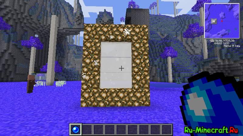все об игре майнкрафт как сделать порталы в рай #8