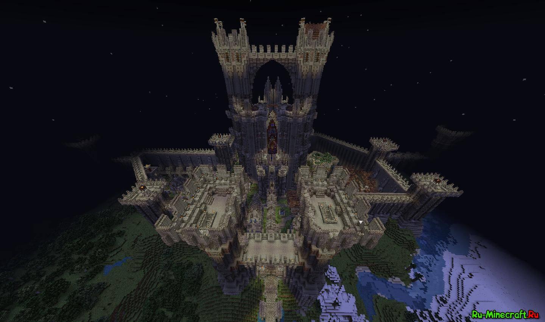 замок в майнкрафте карта #5