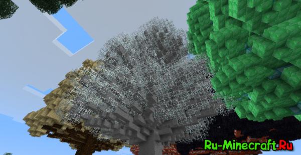 [1.4.7] Huge Trees are Huge! - Выращивай ЛЮБЫЕ блоки в деревья!