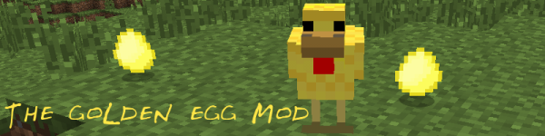 [1.4.6] Golden Egg mod - Золотые яйца [+ обзор]