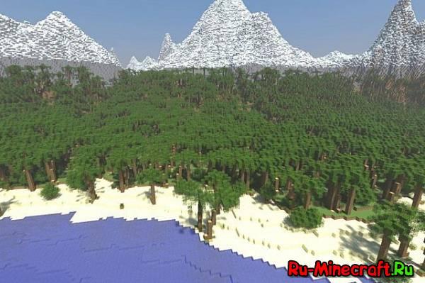 [Map] Palm Islandb - Большой, красивый, прекрасный остров!