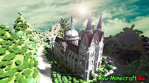 [Map] Cathedral of Denaria - Resubmitted - Огромная церковь,в добавок и реалистичная!