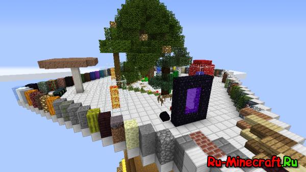 Улучшенная Карта Для Проверки Текстур Minecraft'a