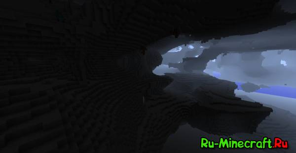 [1.6.2] Cave-Gen MOD - огромные пещеры!