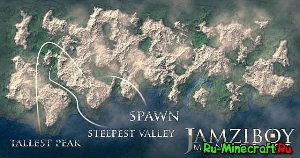 [Map][Spawn] Winter Wasteland - Отличный спавн,красивая карта, снежная пустыня