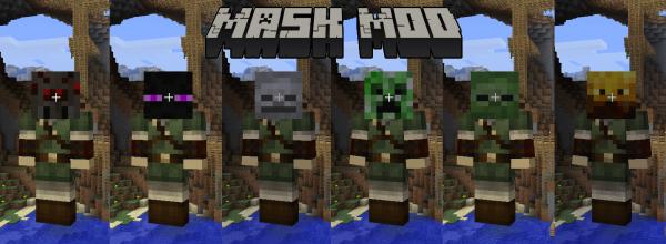 [1.4.7-1.5.1] Masks Mod - маски!