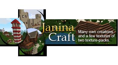 [1.5.1][64x] JaninaCraft - Красивый HD Текстур Пак!