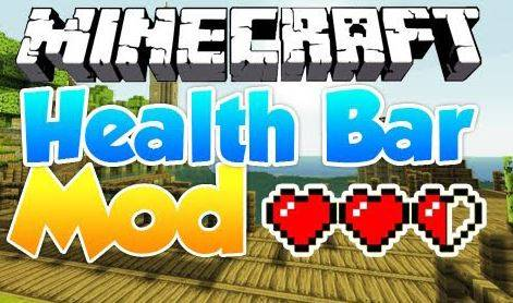 [1.5.1] Health Bars Mod - удобный бар здоровья