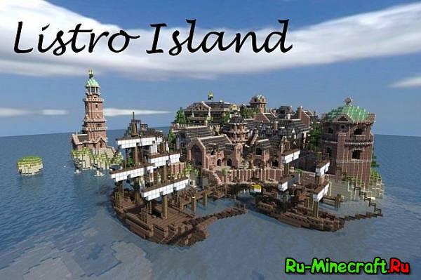 [Map] Listro Island - город на острове Листро