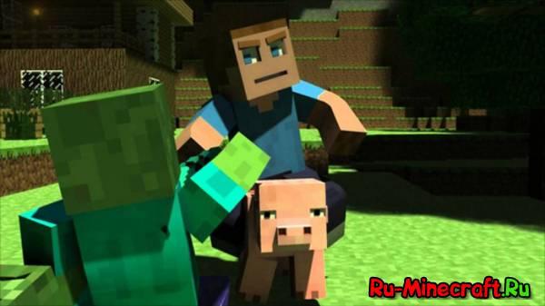 Minecraft: Приключения Стива - анимационный сериал
