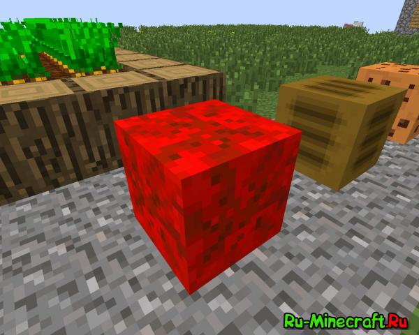 [1.4.7] Blockable Food - Собери еду в блоки