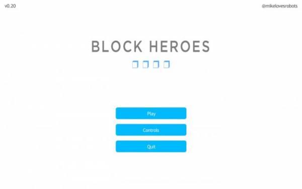 [Game] Block Heroes v0.29 - игра очень похожа на майнкрафт