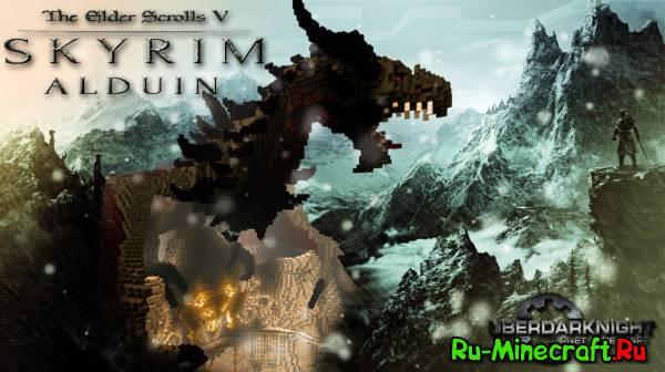 [Map] Alduin - Дракон из Скайрима!