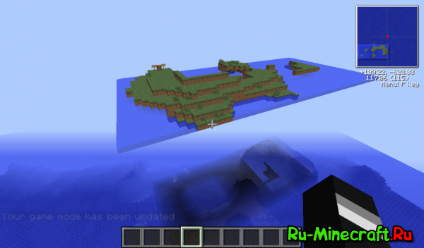 [1.5+]Floating Grass Island - Микс Skyblock'а и Survival Island!