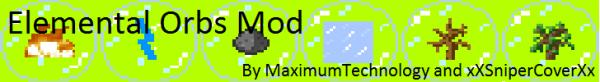 [1.5.1]Elemental Orbs - Магические шары...