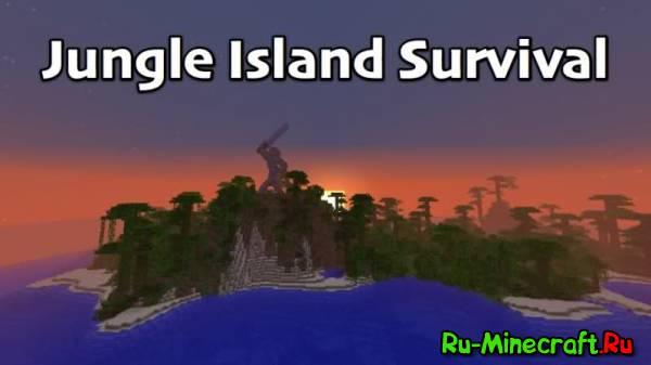 JUNGLE ISLAND SURVIVAL-Интересная карта для выживания