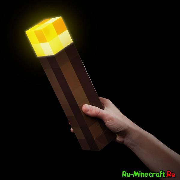 [1.3.2-1.5.1] Mushroom Torch Mod - вносим разнообразие в факелы