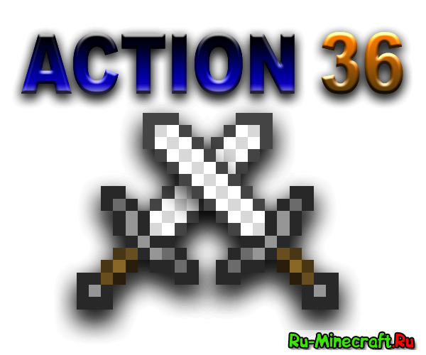 [PVP MAP]Action 36 - 6 Игровых арен для PVP!