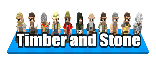 [Game] Timber and Stone - Стратегия в стиле MineCraft !