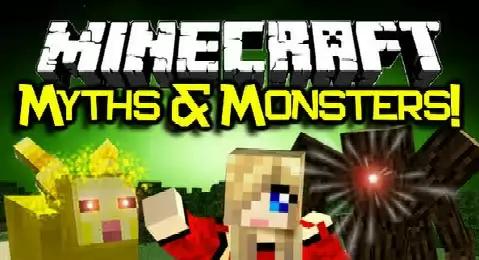 Myths and Monsters - мифические монстры [1.7.10|1.7.2|1.5.2]