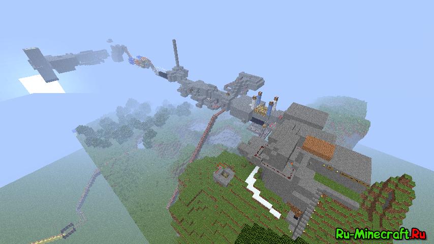 Скачать карту Ловушки для Minecraft