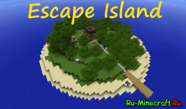 [1.4.6/1.5.1]Escape Island - Приключенческая карта!