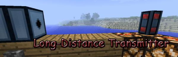 [1.5.1] Long-Distance Transmitter - Беспроводной редстоун!?