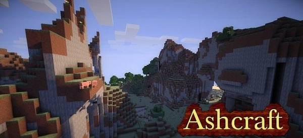 [1.5.1][16x] Ashcraft - красивый текстур пак