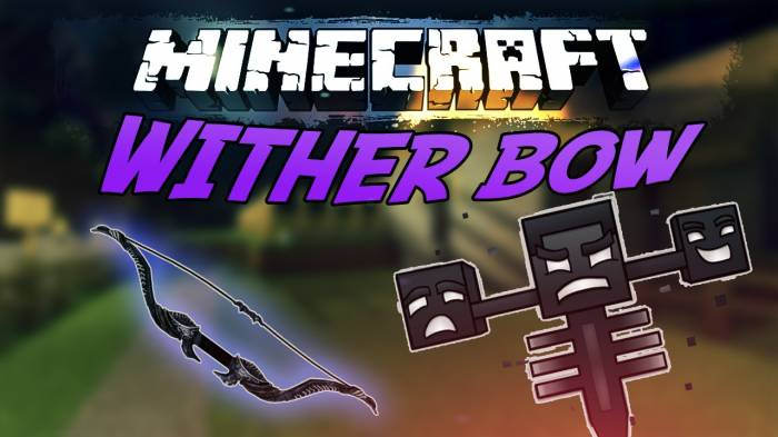 [1.5.1 - 1.4.7] Wither BOW - играй, как Wither с новым Wither луком