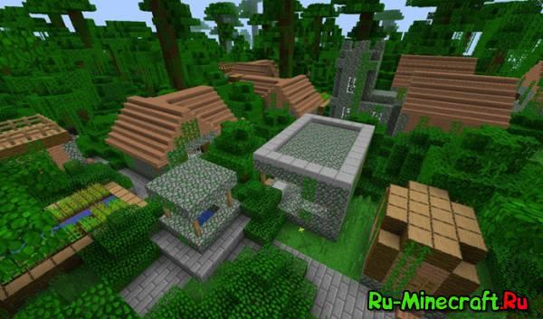 [1.5.1][Forge] MORE VILLAGE BIOMES MOD - Больше деревень!