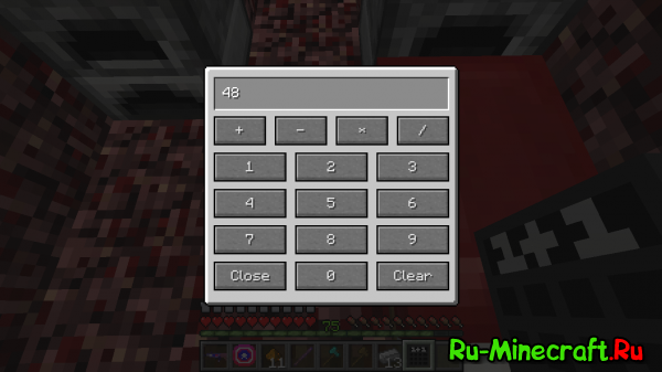 [1.5] Calculator - калькулятор в Minecraft