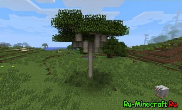 [1.5.1] Natura Minecraft Mod - мод, который разнообразит природу!