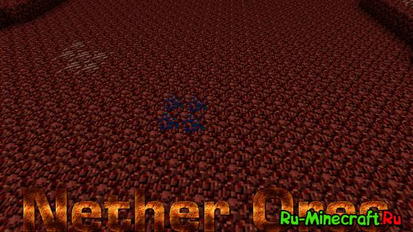 [1.5.1|1.5.2] Nether Ores - новые руды в аду!