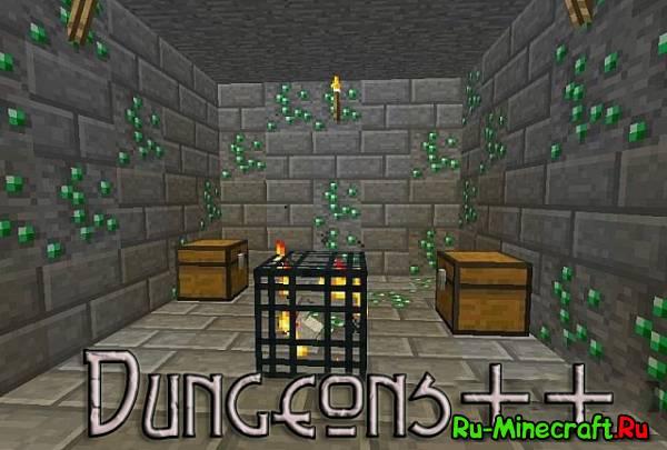 [1.5.1] Dungeons++ Mоd - Больше сокровищей в данжах!