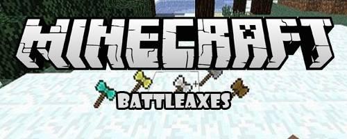 [1.5.1] BattleAxes - мод добавит боевые топоры