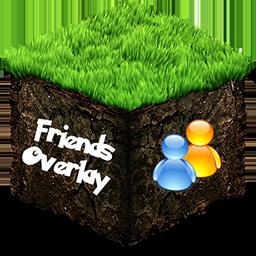 [1.6.2]Friends Overlay-друзья в майнкрафте, окда?