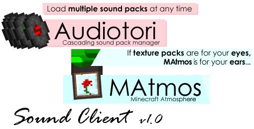 [1.5.2][Client]Sound Client v1.0