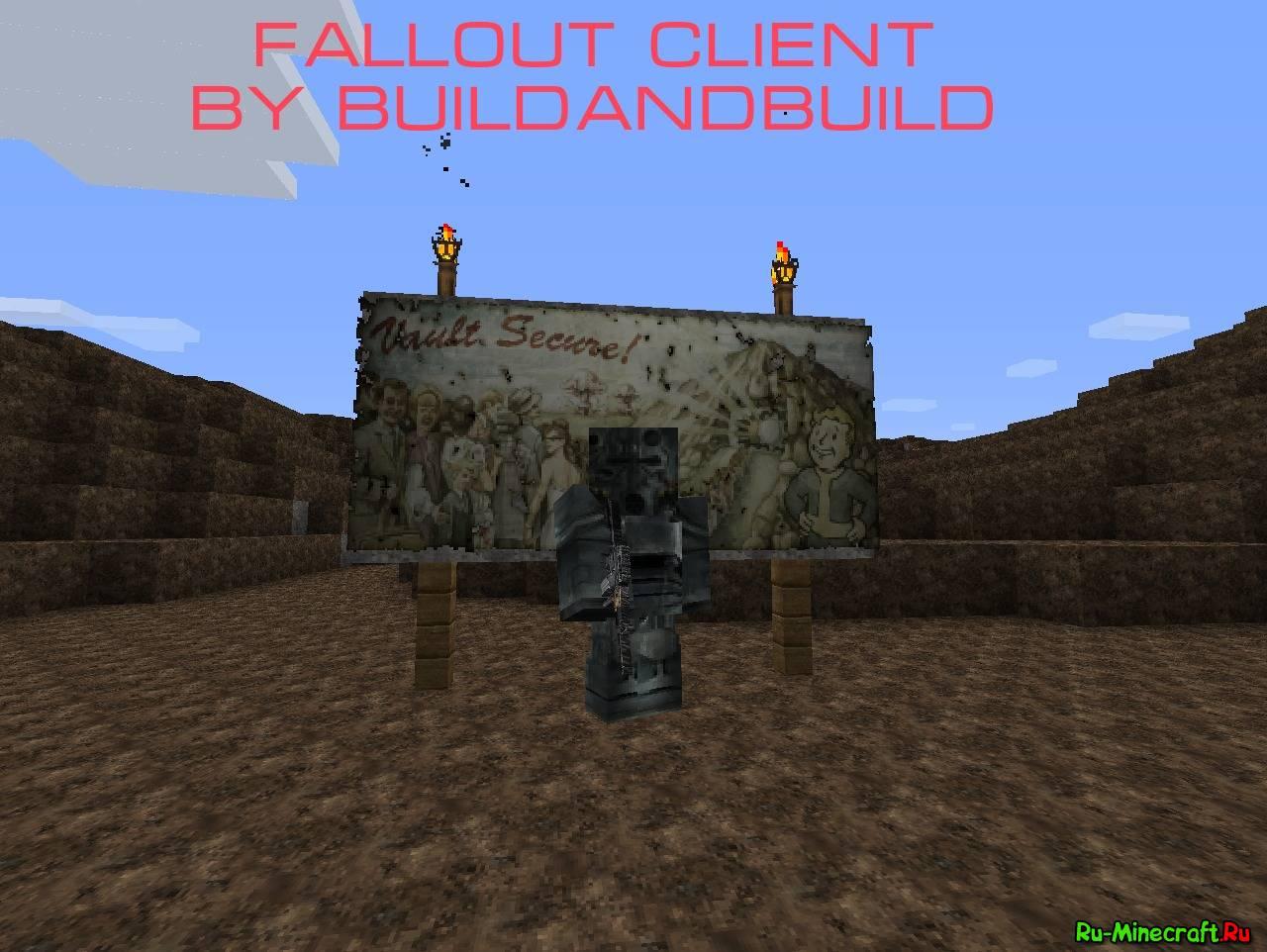 The Fallout (1.7.10) - Моды на Майнкрафт